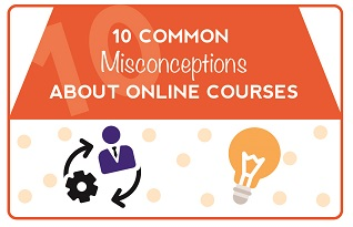 10 Common Misconceptions about Online Courses