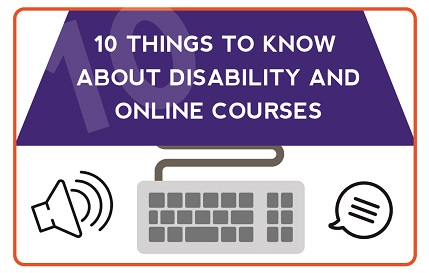 10 Things to Know about Disability and Online Courses