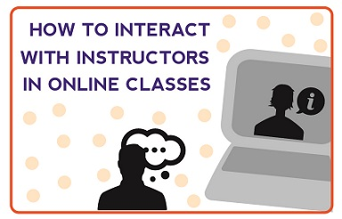 How to Interact with Instructors Online