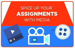 Spice Up Your Assignments with Media!